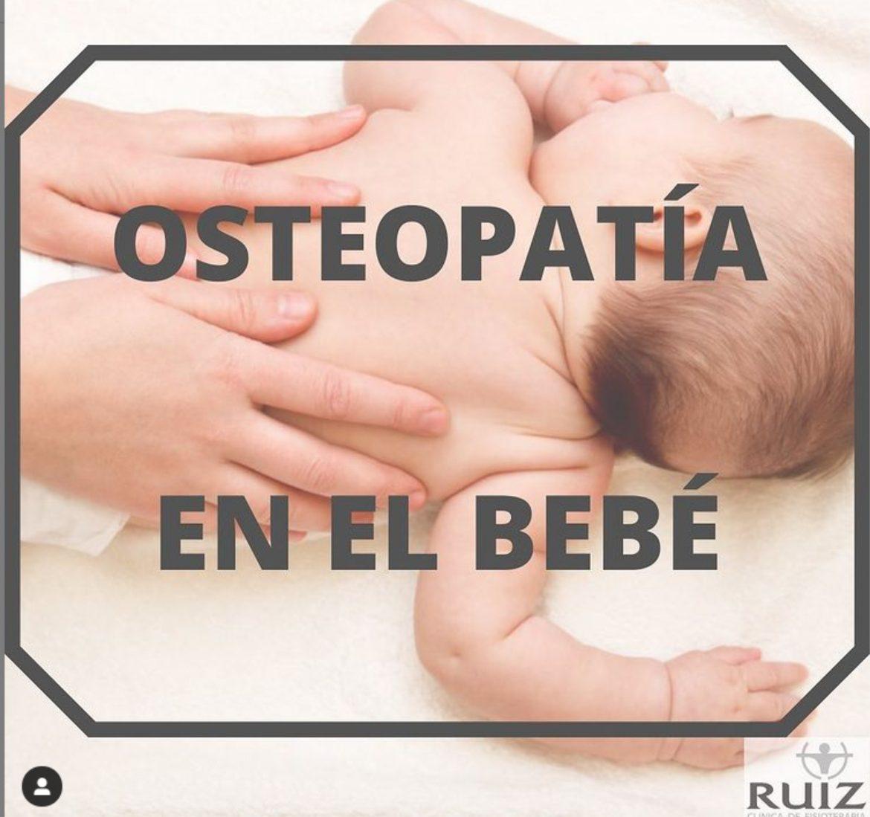Osteopatía en el bebé